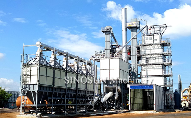 Recycle Asphalt Plant in Thailand - SR2015