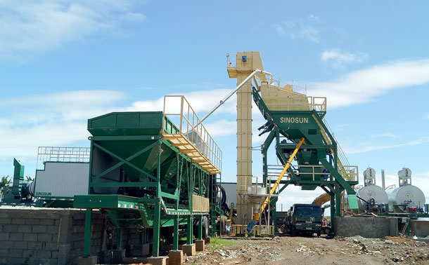 Mobile Asphalt Mixing Plant in Philippines - MAP1000