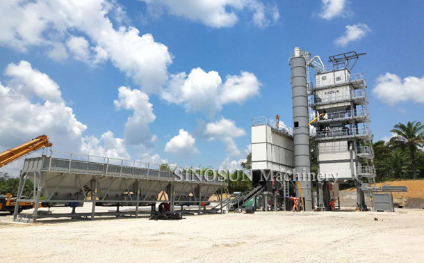 Asphalt Mixing Plant in Malaysia - SAP160